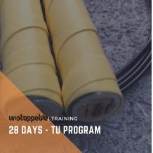 28 DAYS  TRIPLE UNDERS PROGRAM