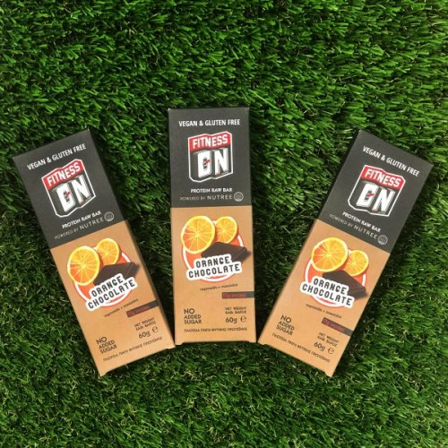 Fitness On Protein Bar Gluten Free – set of 3 Orange Chocolate